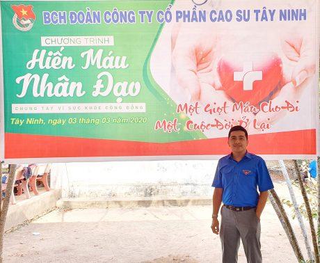 Trương Ngọc Nhất Sĩ là đảng viên trẻ tiêu biểu học và làm theo Bác