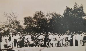 Công nhân cao su làng 14, năm 1952.