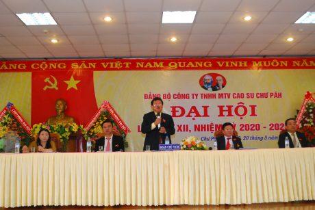 Đoàn chủ tịch điều hành Đại hội