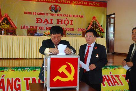 Đoàn Chủ tịch bỏ phiếu bầu Ban chấp hành