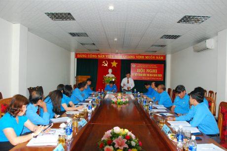 Ông Trương Minh Tiến - TGĐ Cao su Mang Yang, đại diện đơn vị chủ nhà phát biểu với hội nghị