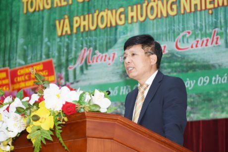 Ông Hồ Sỹ Hùng phát biểu chỉ đạo tại Hội nghị
