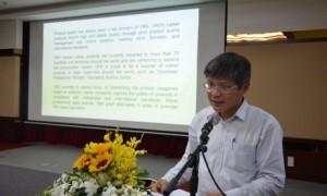 Ông Trần Công Kha – Phó TGĐ VRG đã gửi lời tri ân sâu sắc đến quý khách hàng
