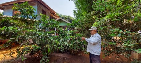 Nhờ vào làm công nhân tại Cao su Việt Lào, gia đình ông Tha Von khấm khá hơn trước rất nhiều.