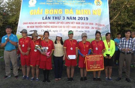 Đội Nông trường Ia Pếch đạt giải nhì